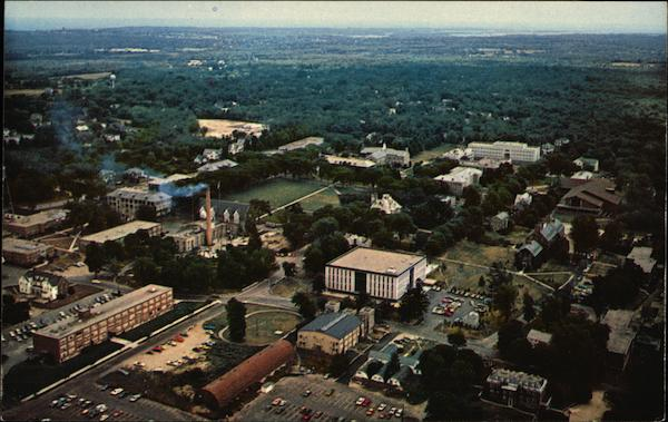 Aerial View University of Rhode Island Kingston
