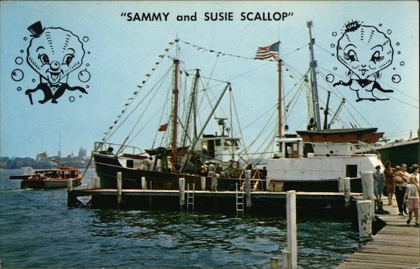 Sammy and Suie Scallop New Bedford Massachusetts