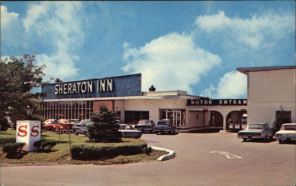 Sheraton Motor Inn Syracuse Ny Postcard