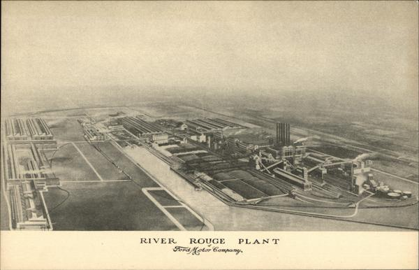 River Rouge Plant, Ford Motor Company Dearborn Michigan