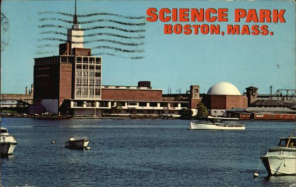 Museum of Science, Science Park Boston Massachusetts