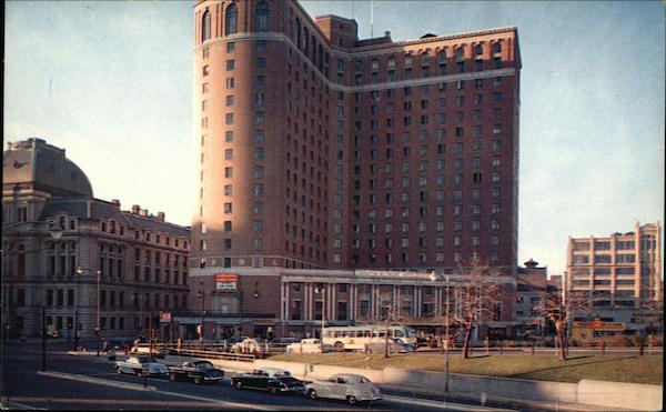 the sheraton biltmore hotel providence ri postcard. Black Bedroom Furniture Sets. Home Design Ideas