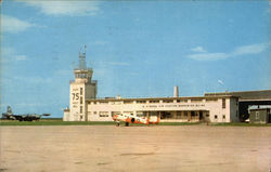U.S. Naval Air Station - Operations Building and Tower