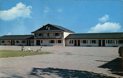 Sir Charles Motel Postcard