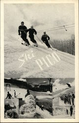 Pico Peak - First Alpine Ski Lift in North America