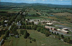 Aerial View of Vermont Technical College