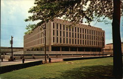 Hillman Library, The University of Pittsburgh