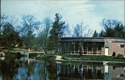 Wheaton College - Chase Dining Hall & Peacock Pond