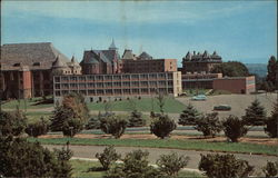 View of Seton Hill College Postcard