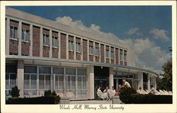 Woods Hall, Murray State University Postcard