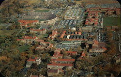University of Colorado Campus from the Air