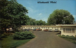 Windewald Motel Postcard