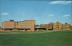 Valparaiso University - Brandt and Wehrenberg Halls Postcard
