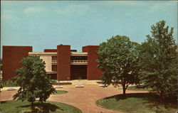 Southern Illinois University - Elijah P. Lovejoy Library Postcard