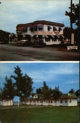 Sun Rise Motel and Cabins Postcard