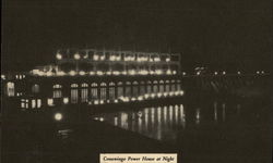 Conowingo Power House at Night