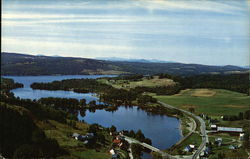 Aerial View of Joe's Pond Postcard