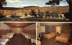 Bellvue Motel and Restaurant Postcard