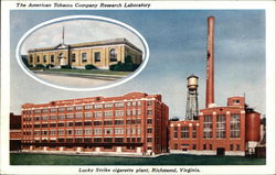 The American Tobacco Company Research Laboratory