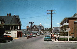 Main Street, Woods Hole, Cape Cod, Massachusetts