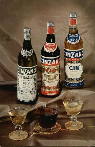 Cinzano Cin Vermouth Advertising
