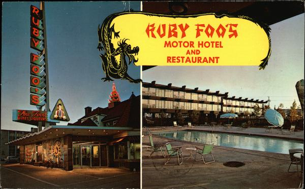 Ruby Foo's Motor Hotel and Restaurant Montreal Canada