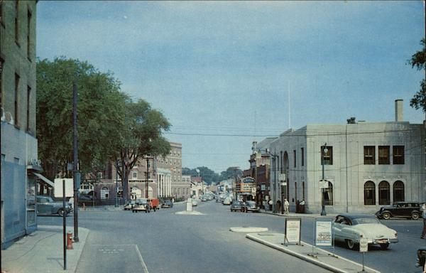 King Street and Hotel Northampton Massachusetts Sid Lane