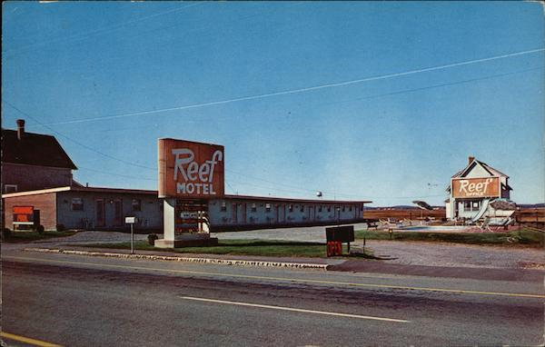 Reef Motel Hampton Beach New Hampshire