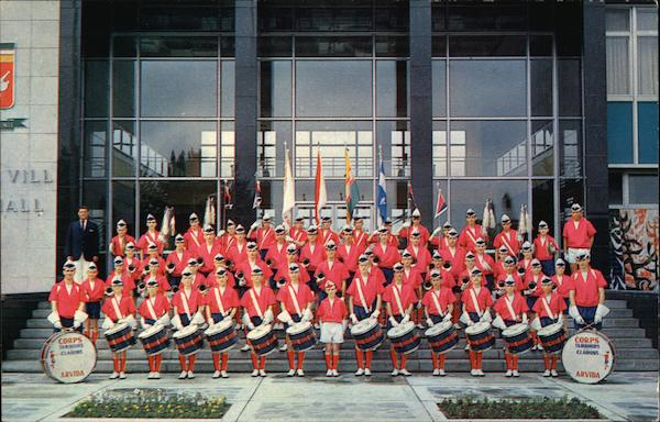 The Arvida Drum and Bugle Corps Canada Quebec