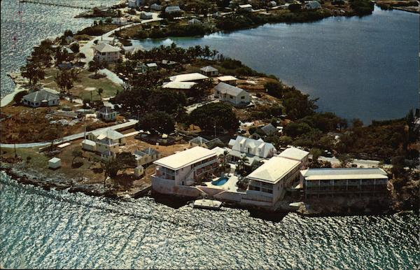 Airview of Club Peace and Plenty Georgetown Bahamas