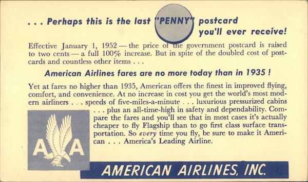 American Airlines, Inc. Advertising