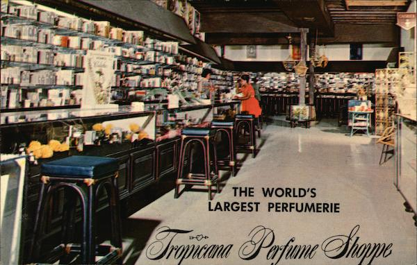 Tripicana Perfume Shoppe St. Thomas Virgin Islands
