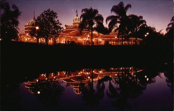 The crystal palace restaurant lake buena vista fl postcard for Restaurant vista palace