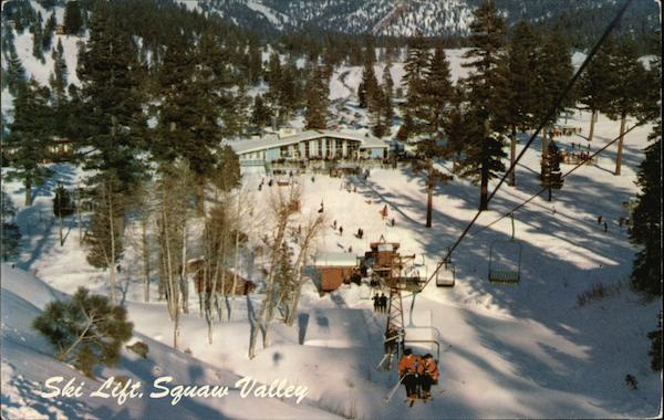 Ski Lift, Squaw Valley Olympic Valley California