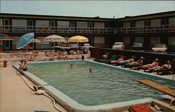 jones boys motel wildwood by the sea nj postcard. Black Bedroom Furniture Sets. Home Design Ideas