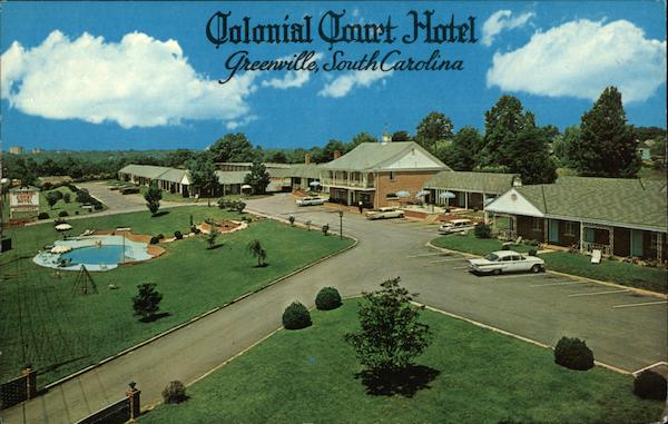 Colonial Court Hotel Greenville South Carolina