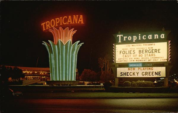 Tropicana Hotel Las Vegas Nevada Ellis-Sawyer