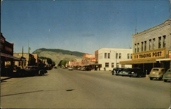 Street Scene Cody Wyoming