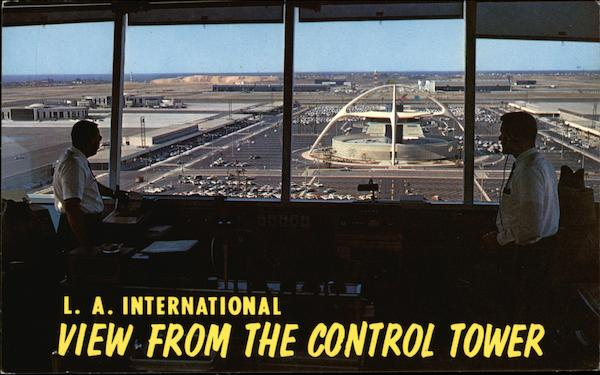 L.A. International - View from the control tower Los Angeles California