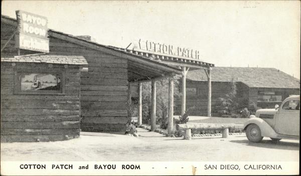 Cotton Patch and Bayou Room San Diego California