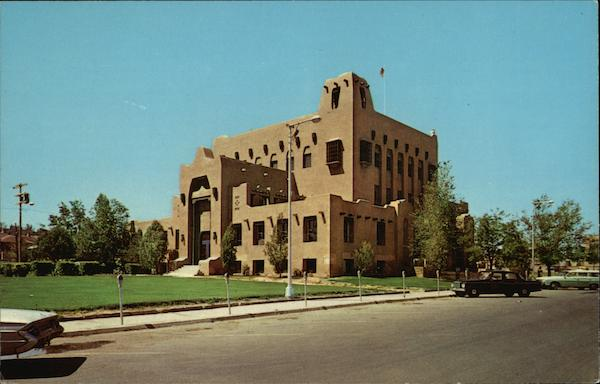 610 - Court House Gallup New Mexico
