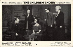 Herman Shumlin Presents The Children's Hour by Lillian Hellman