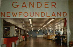 Gander Airport - Lounge in Terminal Building