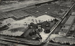 Aerial View of Los Angeles Union Stockyards