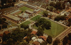 Aerial view of The College of the Bible