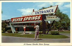 At Famous Florida's Silver Springs