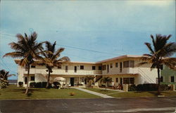Sea Brooks Apartments Postcard