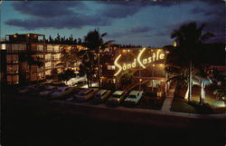 Sand Castle Resort Motel Postcard