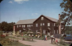 Brookdale Lake Lodge Postcard