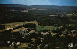 Aerial view of Blair Academy